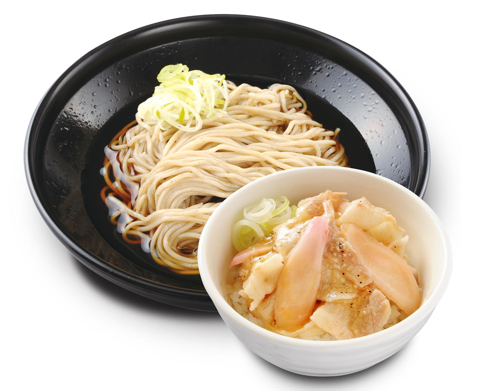 『ミニ豚丼セット 岩下の新生姜』提供イメージ