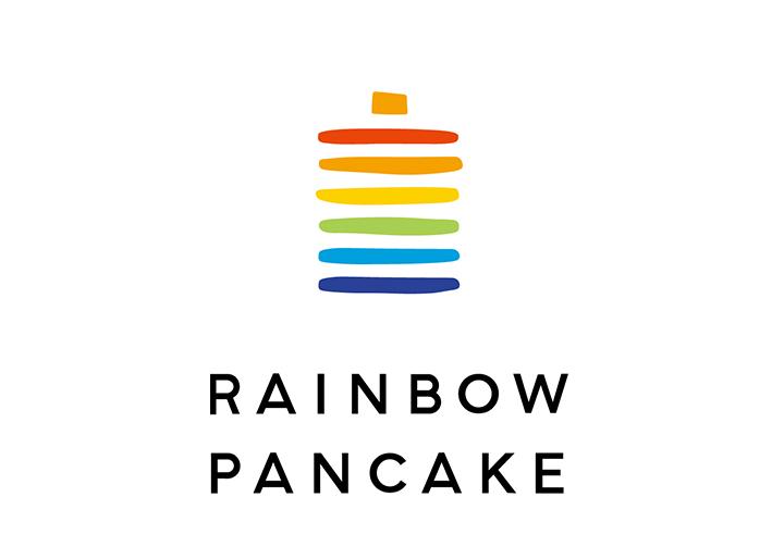 画像:「RAINBOW PANCAKE」ロゴ