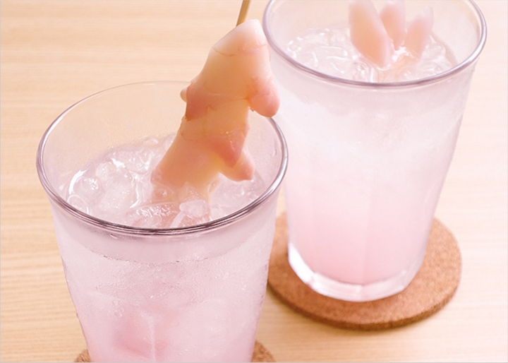ピンクジンジャー