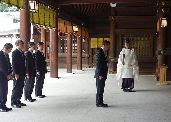 6月6日「らっきょうの日」明治神宮御祈願祭