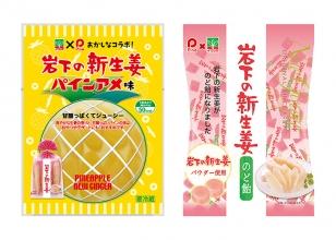 画像:「岩下食品×パイン(株)」相互コラボレーションによる新商品
