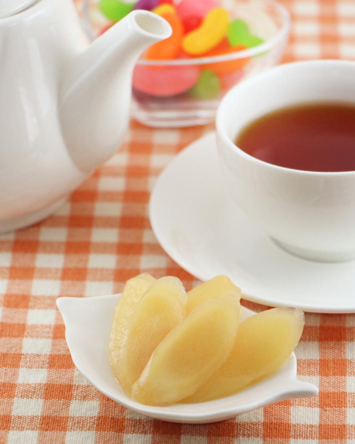 画像:『岩下の新生姜 パインアメ味』食卓イメージ