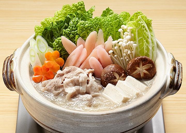 画像:「岩下の新生姜鍋スープ」調理例