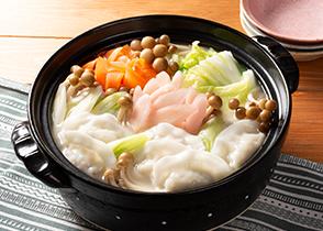画像:【紀文コラボ】鶏の旨塩スープ餃子と岩下の新生姜のぽかぽか鍋