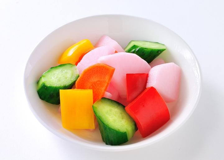 画像:調理例「お好み野菜の岩下漬け」